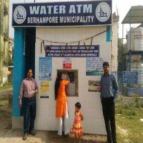 Water ATM Berhampore Municipality