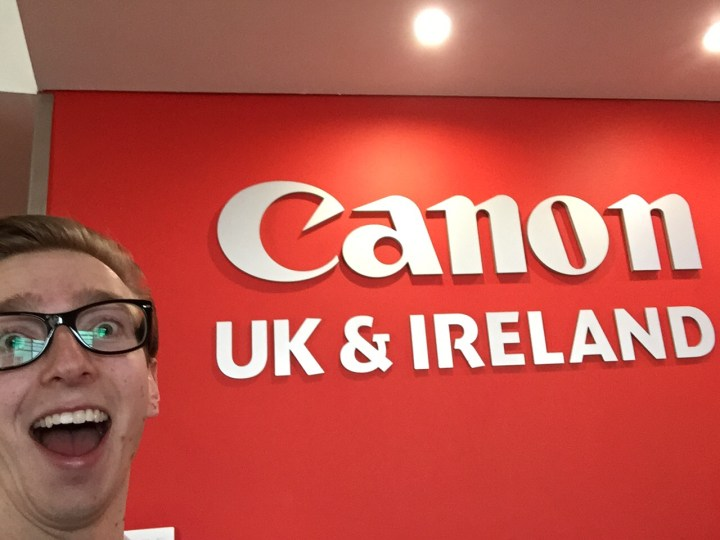 Sam French of Sam's Kitchen at Canon with Gatwick Diamond Business