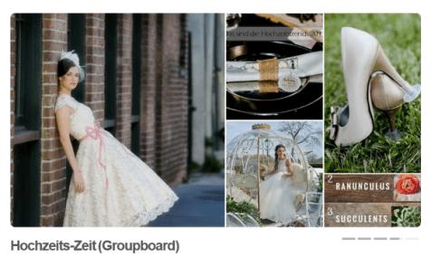 Pinterest Groupboard Hochzeit