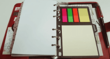 Filofax Sticky Notes