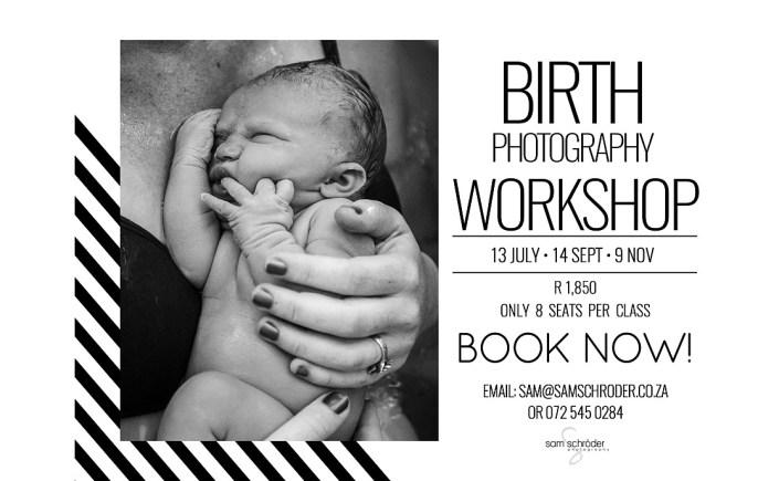 Sam Schroder Birth Photography Workshop