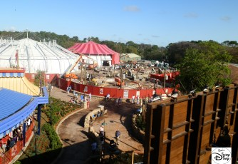 Storybook Circus Phase II Construction (March 13, 2012)