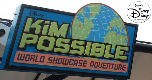 Kim Possible Recruting Station Sign