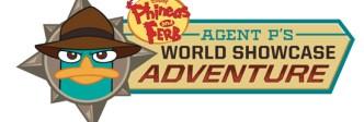 Agent P's World Showcase Adventure Logo
