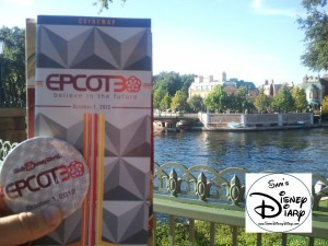 October 1, 2012 Epcot30 Button and Guidemap