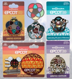 Epcot30 Limited Edition Pins