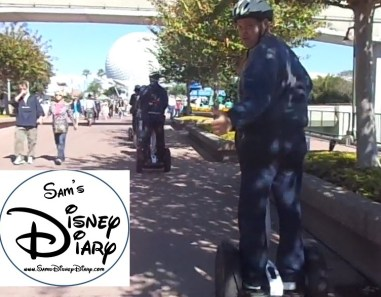 Epcot Segway Tour - Near Spaceship Earth