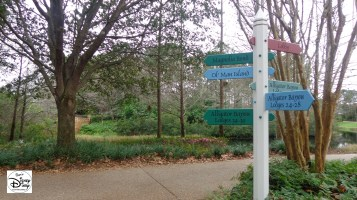 Port Orleans Riverside This way to Ol' Man Island