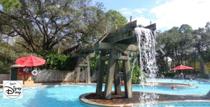 Port Orleans Riverside: Feature Pool: The Swimmin' Hole