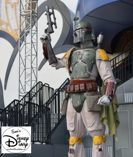 Star Wars Weekend 2013, Bobba Fett Stands Guard..