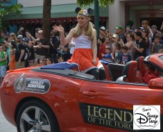 """Legends of the Force"" Motorcade and Celebrity Welcome, Ashley Eckstein Celebrity Host for 2013"