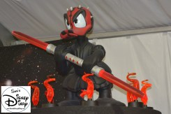 Donald Duck as Darth Maul, in Darth's Mall... Donald was the feature of Star Wars Weekend 2011, now part of the theme.