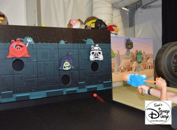 Star Wars Angry Birds Experience was new for Star Wars Weekend 2013