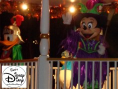 Great Floats are always a part of Mickey's Boo To You Halloween Parade