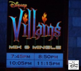Villains Mix and Mingle