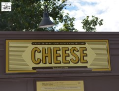 Epcot International Food and Wine Festival 2013 - Cheese