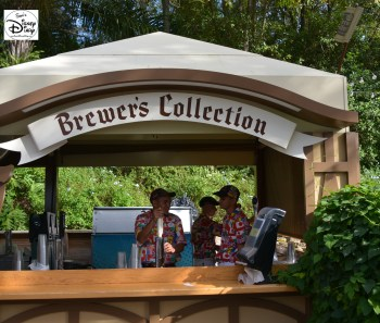 Epcot International Food and Wine Festival 2013 - Brewer's Collection.... Yes Please