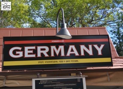 Epcot International Food and Wine Festival 2013 - Germany