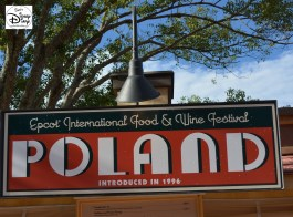 Epcot International Food and Wine Festival 2013 - Poland