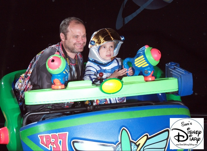 Racking up the points with my little Space Ranger