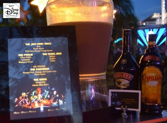 """Star Wars Weekend """"Fell The Force"""" Premium Package - Specialty Beverages - The Jedi Mind Trick, The Force or The Dark Side"""