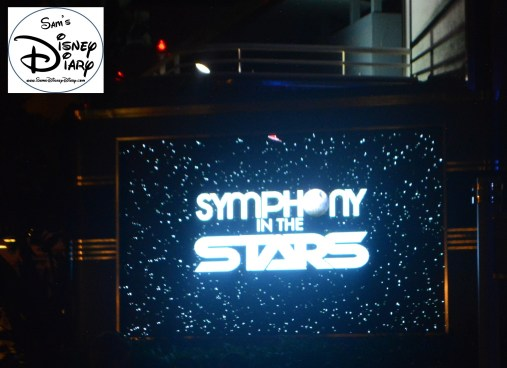 Star Wars Weekend 2014 saw the debut of the Symphony in the Stars Fireworks
