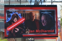 #SWW2015 weekend 1 features Ian McDiarmid, also know as the Emperor