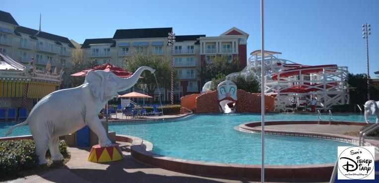 Walt Disney World Boardwalk Luna Park Pool