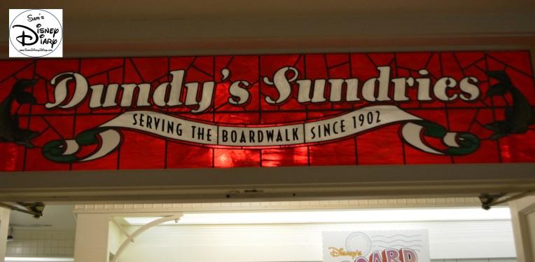 Dundy's Sundries, named for Skip Dundy