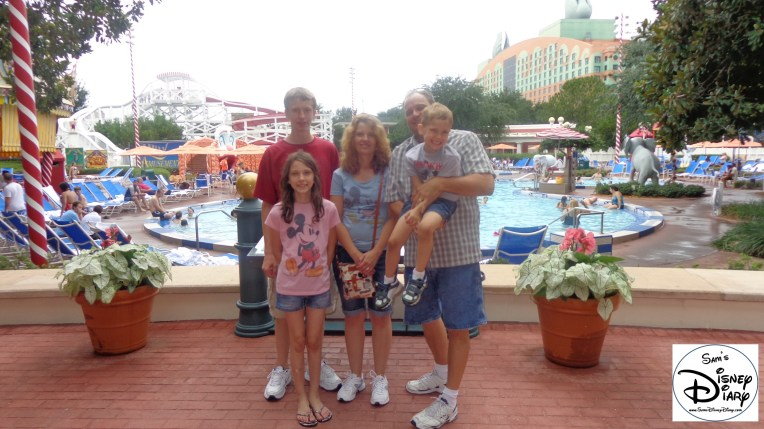 Lots of Family Fun at the Walt Disney World Boardwalk Luna Park Pool