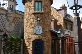Opening at 9am, Less Halles Boulanderie & Patisserie offers a unique opportunity to visit France before World Showcase Opens at 11am The former bakery is now L'Artisan des Glaces (Artisanal 'ice cream and sorbets)
