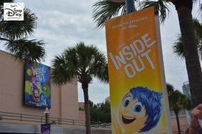 Hollywood Studios Animation Courtyard - promoting the latest in Disney animation - Summer 2015 - Inside Out