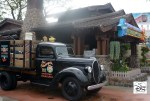 Sid's Truck is still parked outside the shop, loaded with Hollywood goodies from his latest trip