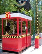 The Second Guard shack was located near the Backlot Express