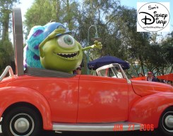 Disney Stars and Motor Cars parade - Monsters inc.
