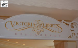Victoria and Albert's, The first stop of our anniversary tour.
