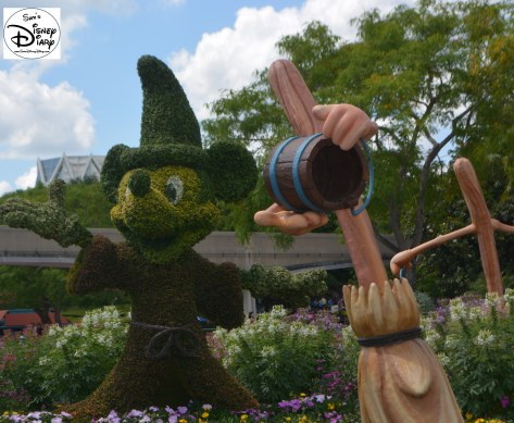 Epcot Flower and Garden Festival - Fantasia Topiaries
