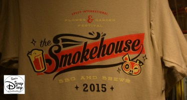 Epcot Flower and Garden Festival - Merchandise Smokehouse T-Shirt