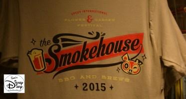 Epcot Flower and Garden Festival - Merchandise Smokehouse T-Shirt