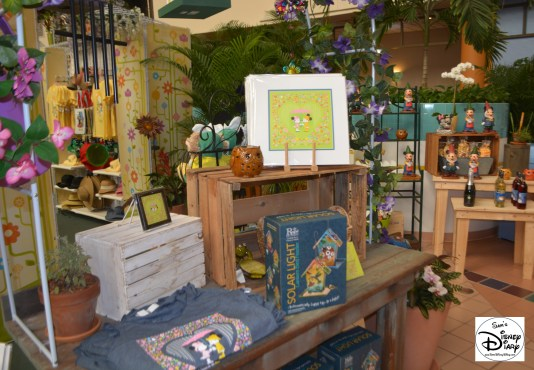 Epcot Flower and Garden Festival - Festival Center is the central hub for festival merchandise