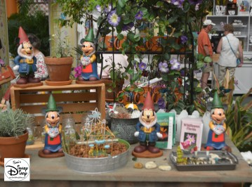 Epcot Flower and Garden Festival - Festival Center is the central hub for festival merchandise