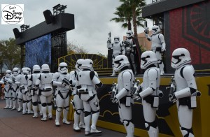 """First Order March"" led by Captain Phasma"