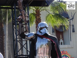 A Galaxy Far, Far Away Stage Show - Phasma up close.