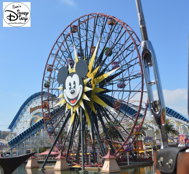 Mickey's Wonder Wheel at Disney California Adventure Park