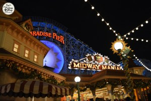 SamsDisneyDiary 12 Days of Christmas Day 3 - Viva Navidad - Paradise Pier is the location