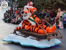 SamsDisneyDiary 82: Disneyland Christmas Fantasy Parade - Tigger
