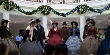 SamsDisneyDiary #86 - Epcot Holidays Around the World Musical Tour - Voices of Liberty