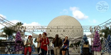 SamsDisneyDiary #86 - Epcot Holidays Around the World Musical Tour - American Sound Machine