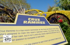 The 2017 Epcot International Flower and Garden Festival - Road to the Florida 500 Featured Cruz From Cars 3