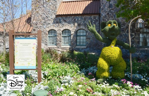 The 2017 Epcot International Flower and Garden Festival - A troll near norway